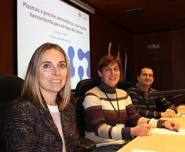 Dr. Cristina Canal at CIBIR Seminar